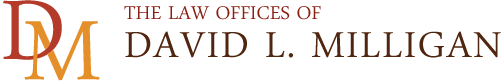 David L. Milligan law office logo